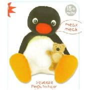 Pingu - Large Talking Toy with Teddy