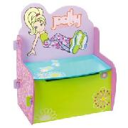 Polly Pocket Toy Box Bench