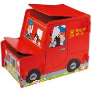 Postman Pat's Van Toy Box