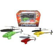 R/C Mini Spiderman Ir Helicopter