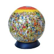 Ravensburger Puzzleball 240 Pieces Simpsons