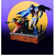 Silver Age Batman and Robin Statue