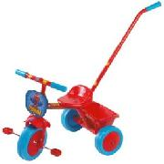 Spiderman Trike with Parent Handle