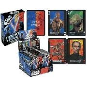 Starwars Heroes and Villains Playing Cards