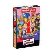 "Waddingtons ""Number 1"" Playing Cards - Simpsons"