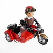 Postman Pat - Friction Motorbike with Articulated Ajay Bains Figure