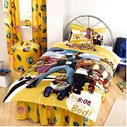 Lazy Town - Yellow Bedlinen Set