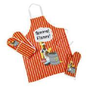 Creative Tops Simpsons Flamey Gauntlet, Oven Glove and Apron Set