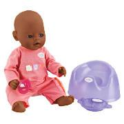 Ethnic Baby Annabell with Magic Eyes Doll