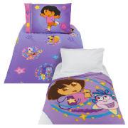 Kids' Dora the Explorer Duvet Set and Fleece Blanket