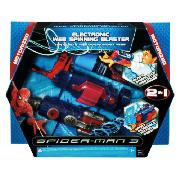 Spiderman 3 Electronic Deluxe Spinning Web Blaster