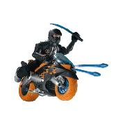 "Action Man Atom - Nitrobike Xt7 with 11"" Axel Figure"