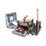 Wwe Micro Aggression Crash and Bash Playset and Cage Match
