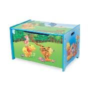 Winnie the Pooh Wooden Toy Box